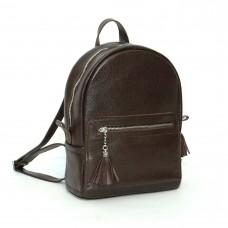 Женский кожаный рюкзак B020106-chocolat шоколад