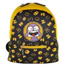 Рюкзак дошкольный KOKONUZZ-BE HAPPY с осьминогом черно-желтый
