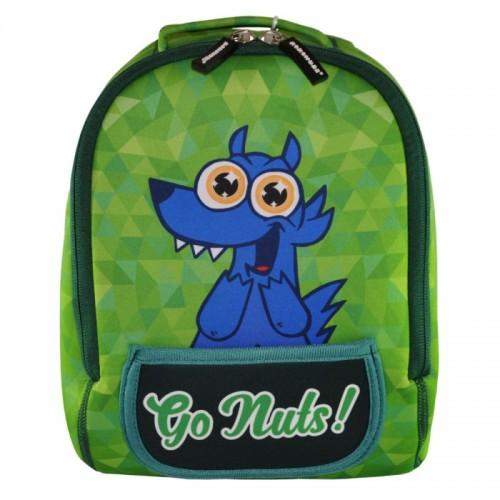 Рюкзак дошкольный KOKONUZZ-GO NUTS с собакой салатовый