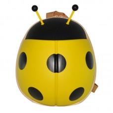 Рюкзак дошкольный SUPERCUTE в виде божьей коровки желтый