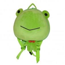 Рюкзак дошкольный SUPERCUTE в виде лягушки салатовый