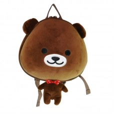 Рюкзак дошкольный SUPERCUTE в виде мишки коричневый