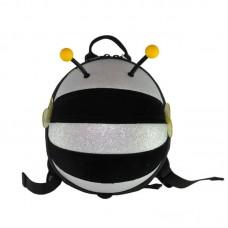 Рюкзак дошкольный SUPERCUTE в виде пчелы черный с серебристым