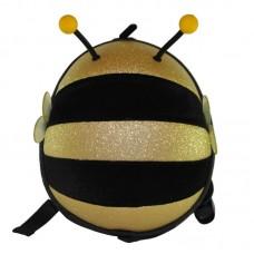 Рюкзак дошкольный SUPERCUTE в виде пчелы черный с золотым