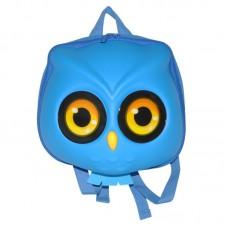 Рюкзак дошкольный SUPERCUTE в виде совы голубой