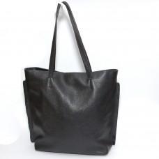 Сумка кожаная женская S110101-black черная
