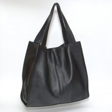 Сумка кожаная женская S120101-black черная