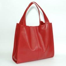 Сумка кожаная женская S120103-red красная