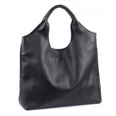 Сумка кожаная женская S150101-black черная