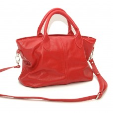 Сумка кожаная женская S230103-red красная