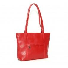 Сумка кожаная женская S300103-red красная