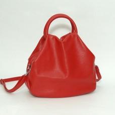 Сумка кожаная женская S310103-red красная