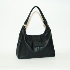 Сумка кожаная женская S390101-black черная